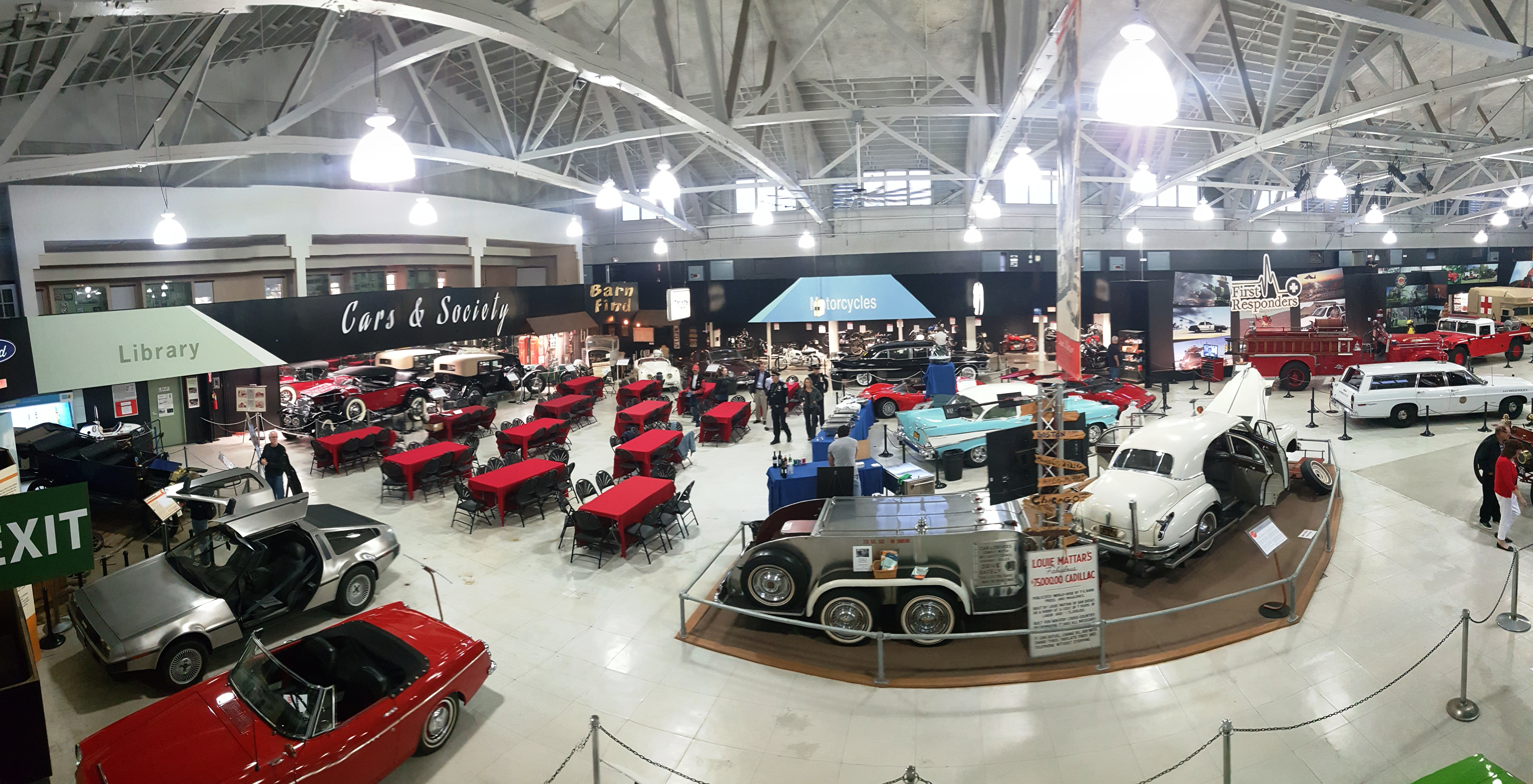 Private Events San Diego Automotive Museum - Car events