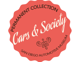 Cars in Society exhibit logo