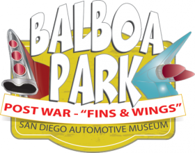 Balboa Park Fins and Wings exhibit logo