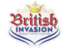 British Invasion exhibit logo