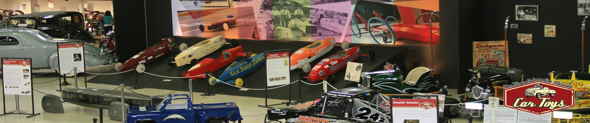 car toy exhibit