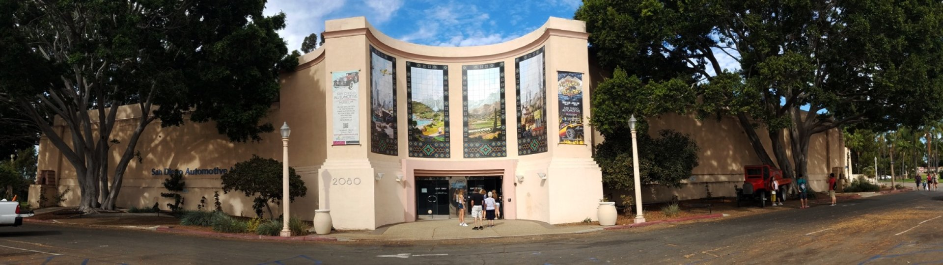 San Diego Automotive Museum Facade