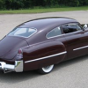 Purple 1948 cadillac